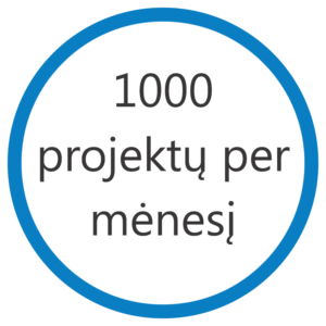 1000 projektu